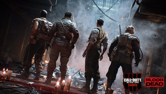A screen shot from 'Call of Duty: Black Ops 4,' scheduled