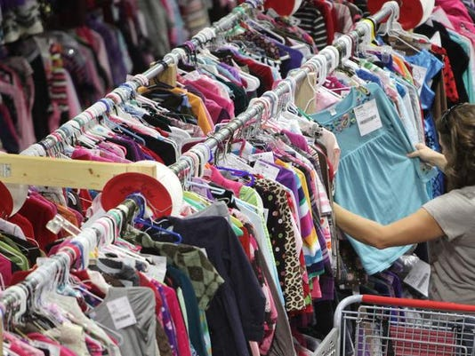 c134b13ed Kids consignment sale begins today and runs through Saturday (Photo: File  photoy/News-Leader)