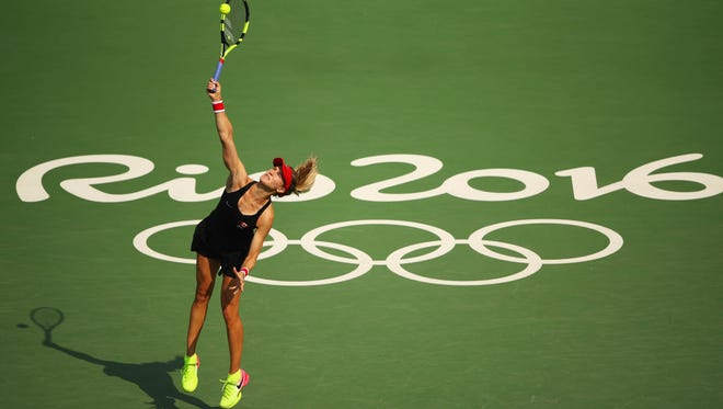 """Eugenie Bouchard knew she """"couldn't miss out"""" on playing in the Olympics."""