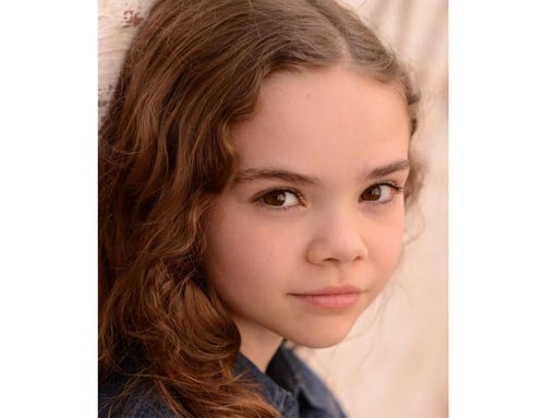 """Hannah Alligood will portray young Margo in """"Paper Towns."""" (Photo ..."""