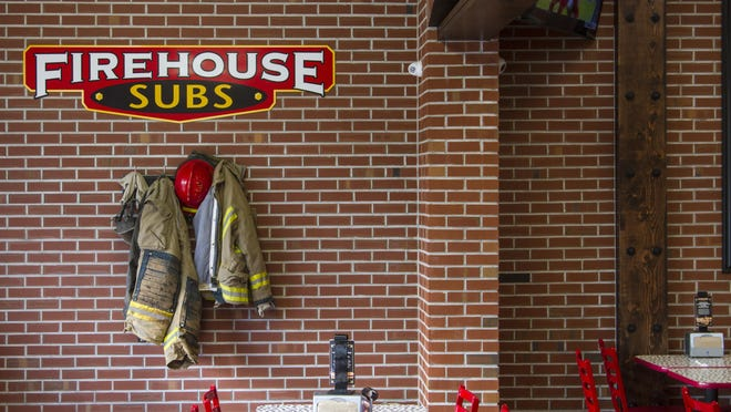 Firehouse Subs, at 78 N Main St, Cedar City, makes it a point to give back to local first responders.