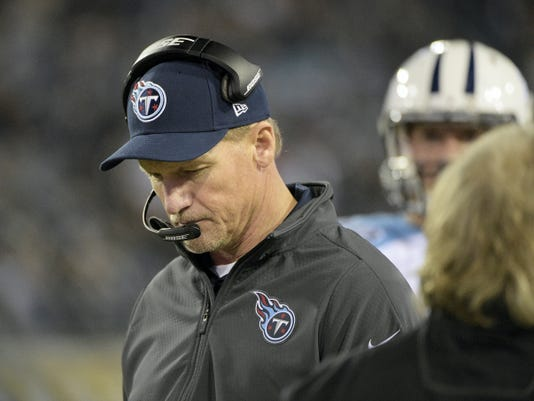 Tennessee Titans head coach Ken Whisenhunt was fired on Tuesday. His team is off to a 1-6 start.