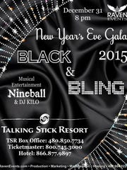 Leave the shorts and polos in the dresser for this one. Raven's Black and Bling party is black tie.