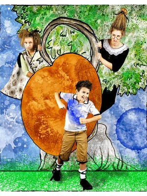"""James and the Giant Peach Jr."" runs Oct. 14-23 at the Kum & Go Theater at Des Moines Social Club, 900 Mulberry St. Showtimes are 7:30 p.m. Thursdays and Fridays, 2 and 7:30 p.m. Saturdays and 2 p.m. Sundays. Tickets are $20 for adults and $15 for ages 12 and under. Purchase tickets at dmyat.org."
