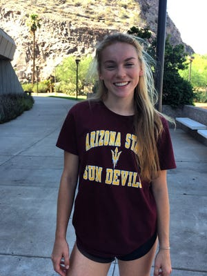 Rocky Mountain's Annika Larson has verbally committed to play college volleyball at Arizona State.