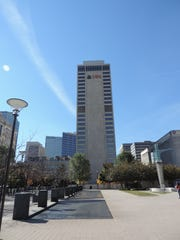 UBS Tower has 602,000 square feet of office space.