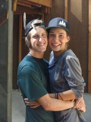 Will Rogers and Kate Mieslinger will be hiking the