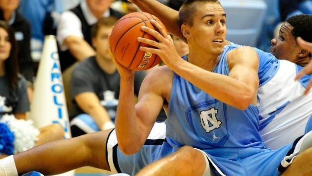 Smoky Mountain alum Jackson Simmons now plays college basketball for North Carolina.