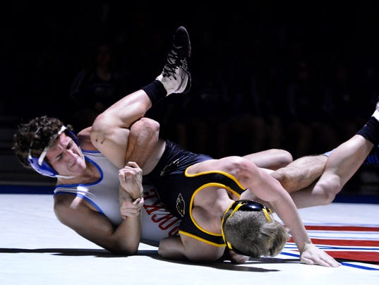 Red Lion at Spring Grove wrestling