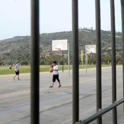 Rancho Campana High School in Camarillo, one of the