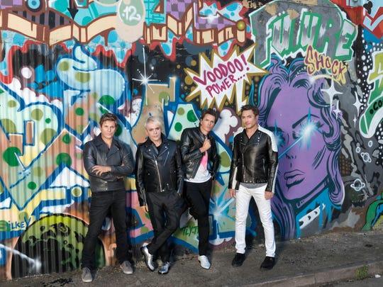 Duran Duran plays the GSR's Grand Theatre on Sept. 25.