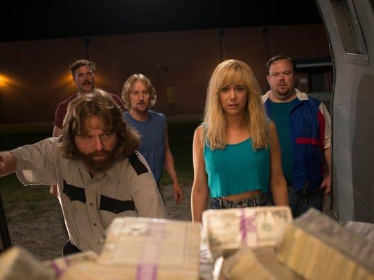 Ken Morino (from left), Zach Galifianakis, Owen Wilson,
