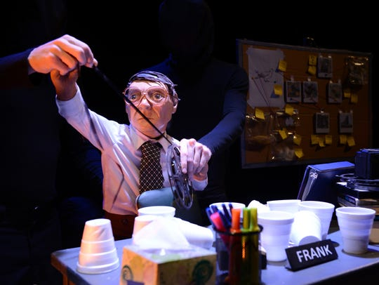 "Frank does film roll in ""The Pigeoning"" at OZ Arts"