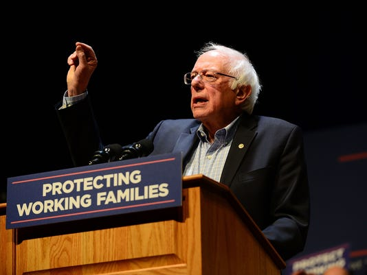 Protecting Working Families Tour By MoveOn.org And The Not One Penny Campaign With Sen. Sanders In Reading, PA