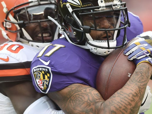 USP NFL: BALTIMORE RAVENS AT CLEVELAND BROWNS S FBN CLE BAL USA OH