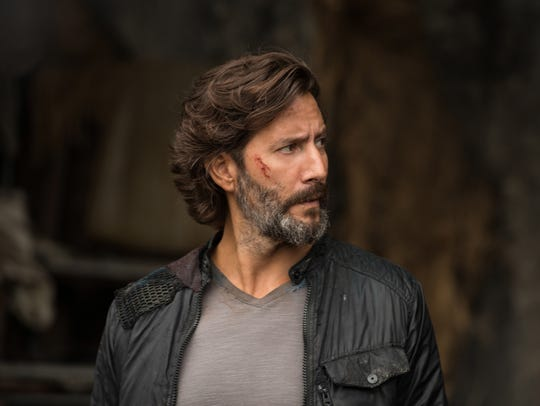 "Henry Ian Cusick in the CW show ""The 100."""