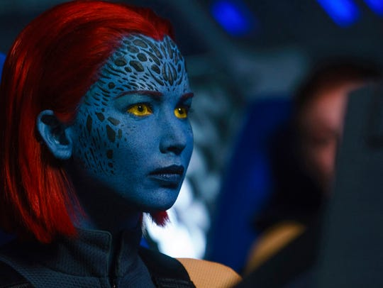 "Jennifer Lawrence returns as shapeshifting Mystique in next year's ""X-Men: Dark Phoenix."""