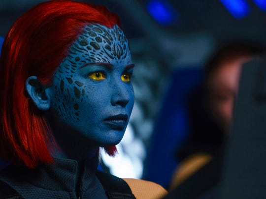 Jennifer Lawrence returns as shapeshifting Mystique