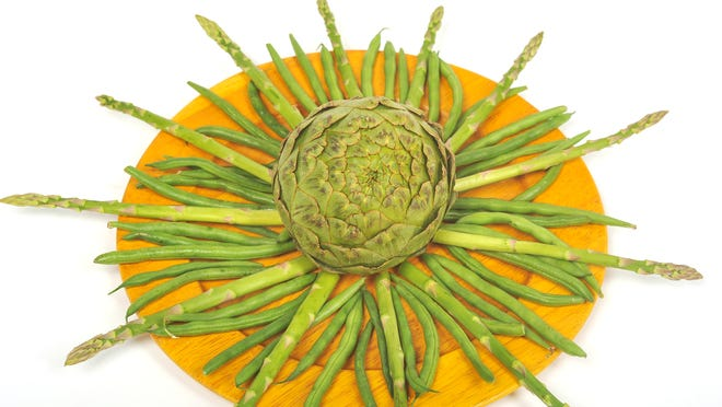 Spring brings out the green in fresh vegetables.