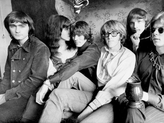This Dec. 5, 1968 photo shows the rock band Jefferson