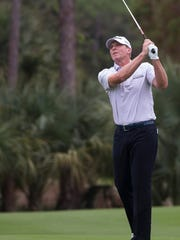 Steve Stricker, who finished second with Jerry Kelly at the Shootout last year, is back and will play with Sean O'Hair this coming week in the QBE Shootout in Naples.