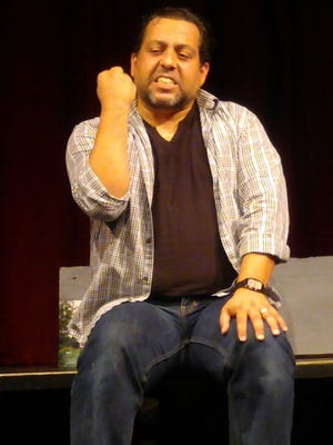 Miguel Cintron stars in Theatre Conspiracy's 'The Gun Show'