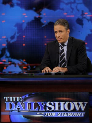 "Jon Stewart on ""The Daily Show."""