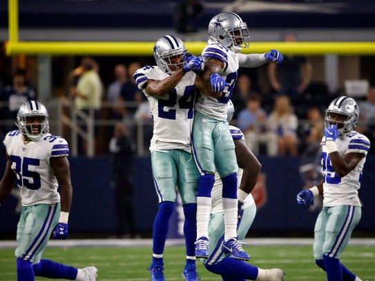 Dallas Cowboys cornerback Nolan Carroll II (24) and