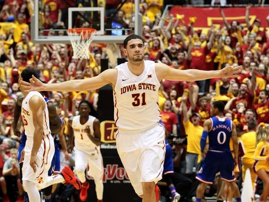 NCAA Basketball: Kansas at Iowa State