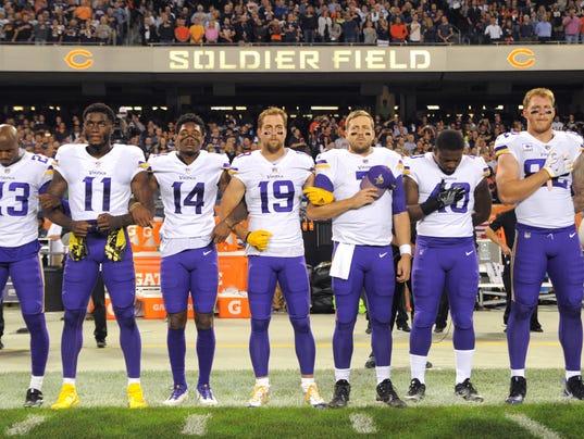 USP NFL: MINNESOTA VIKINGS AT CHICAGO BEARS S FBN CHI MIN USA IL