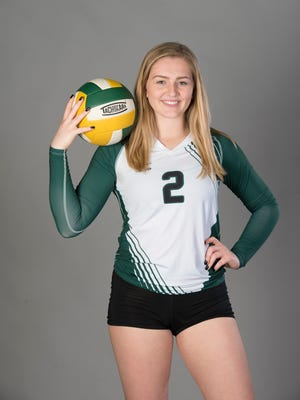 Ellen Floyd , a two-time PNJ volleyball player of the year, was honored Tuesday night as the overall female scholarship winner at the 39th annual Pensacola Sports Scholar-Athlete Banquet at Olive Baptist Church.