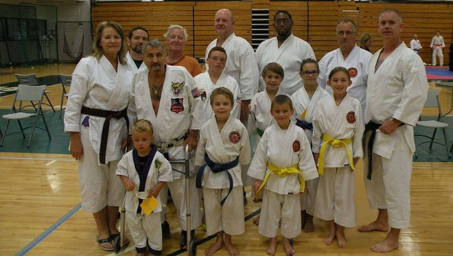 Members of Annarino's Martial Arts recently competed during the AKJU Karate Nationals.