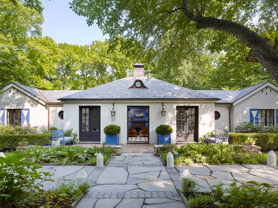 The 1950s split level Georgian ranch at 96 Washington Spring Road in Palisades has a bevy of charming country touches.