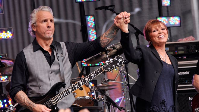 Singer Pat Benatar and husband and musician Neil Giraldo perform at the Capitol Theatre on May 8.