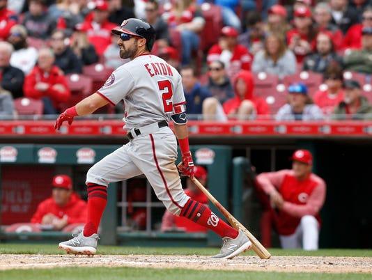 USP MLB: WASHINGTON NATIONALS AT CINCINNATI REDS S BBN CIN WAS USA OH