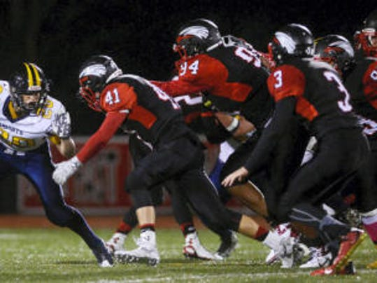 The Dover defense swarmed Eastern York all night, picking up a crucial 7-6 win.