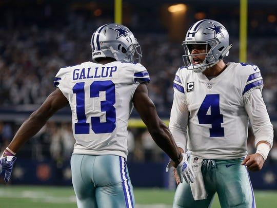 Los vaqueros de Dallas se impusieron 24-22 a los Seahawks.