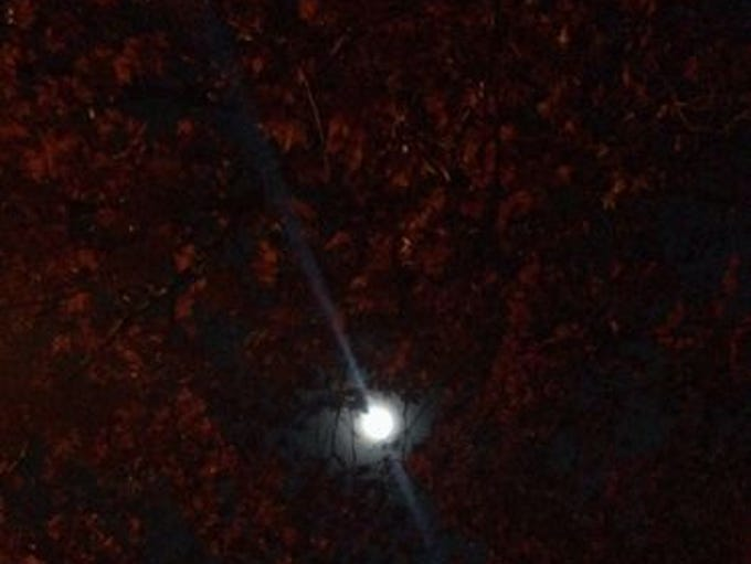 """<p>From full moons to lightning, Your Take contributors share at yourtake.usatoday.com, what they see when they gaze into the skies. While taking a break from jogging, Anthony Sganga of Ridgefield Park, N.J., looked up and thought """"that'd be a cool picture.""""</p>"""