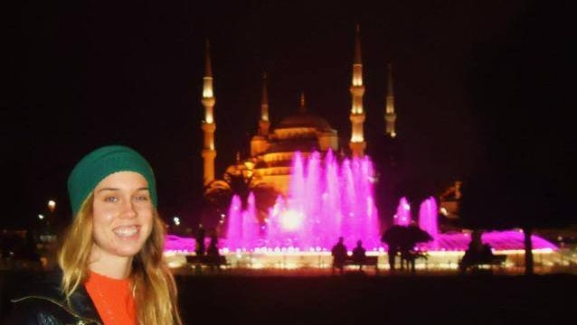 Amanda Rewerts is a graduate student in Ankara. She is originally from Nevada, Iowa.