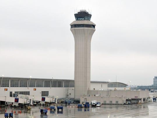 Two Planes Clip At Metro Airport De Icing Area