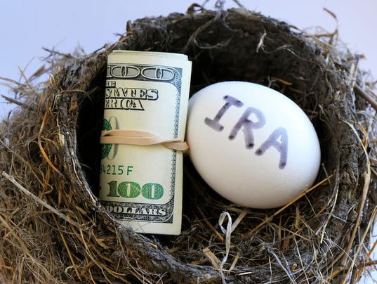 Nest with money and egg