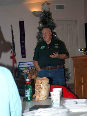 Baxter County Master Gardener Darrell Stewart was recently awarded the Master Gardener of the Year Award for 2017 at the group's Holiday Luncheon.