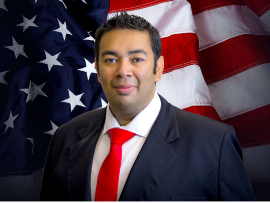 Greater Palm Bay Chamber of Commerce Chairman Puneet