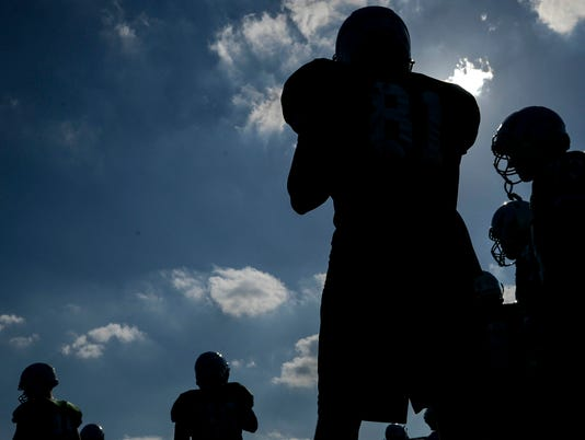 High School Football: Viera Spring Practice