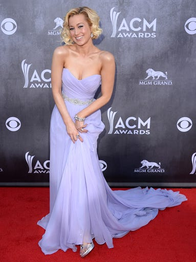 Kellie Pickler attends the 49th annual Academy of Country Music Awards at the MGM Grand Garden Arena on April 6, 2014 in Las Vegas.
