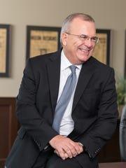 Businessman Mike Sherzan is seeking the Democratic