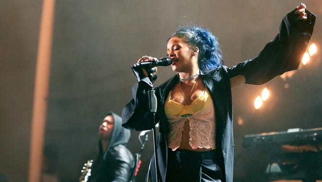 """5/1: RIHANNA   The Barbadian singer has been steaming up the pop charts since 2005 when her double-platinum debut, """"Pon de Replay,"""" peaked at No. 2 on Billboard's Hot 100. The following year, she topped that chart with """"SOS."""" Her biggest hits include multiplatinum chart-toppers """"Umbrella,"""" """"Take a Bow,"""" """"Disturbia,"""" """"Rude Boy,"""" """"Only Girl (In the World),"""" """"What's My Name,"""" """"S&M,"""" """"We Found Love"""" and """"Diamonds."""" """"FourFiveSeconds,"""" the first single from her new album, """"Anti,"""" featured guest appearances from Kanye West and Paul McCartney, going double platinum and hitting No. 4 on Billboard's Hot 100. A second hit, """"Bitch Better Have My Money,"""" peaked at No. 15, going platinum.   Details: 7:30 p.m. Tuesday, March 1.  Talking Stick Resort Arena (formerly US Airways Center), 201 E. Jefferson St., Phoenix. $25.75-$146.25. 800-745-3000, ticketmaster.com."""