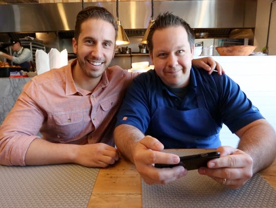 Stephen Mancini and Eric Gabrynowicz, co-owners of