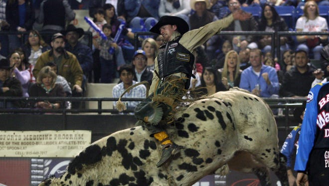 Tuff Hedeman Championship Bull Riding makes its way back to the El Paso County Coliseum at 8 p.m. Feb. 18.