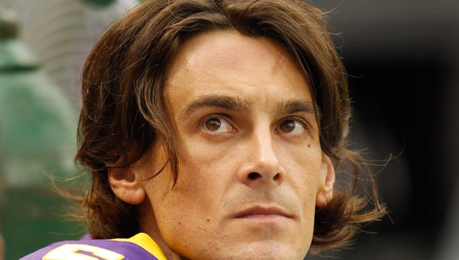 Chris Kluwe punted for the Vikings for eight seasons.